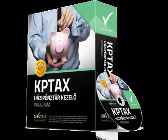 KPTAX Házipénztár kezelő program