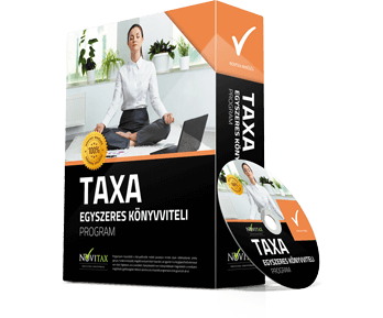 TAXA Egyszeres könyvviteli program