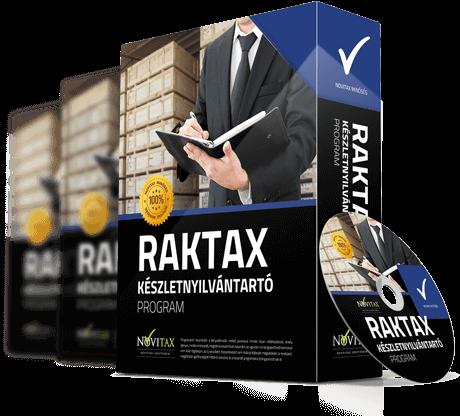 RAKTAX Készletnyilvántartási és raktárkezelő program
