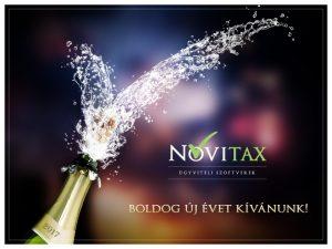 Boldog Új Évet Kíván a Novitax Kft!