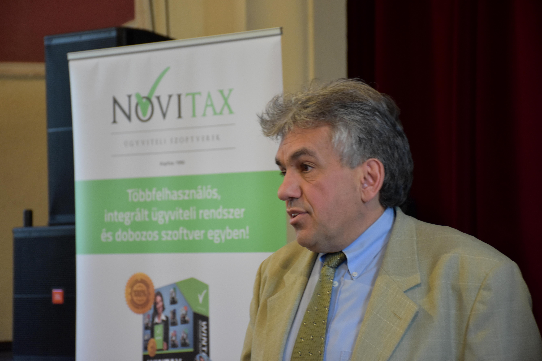 Dr. Horváth István – munka törvénykönyv előadás a Novitax adóklub rendezvényen 2017.01.24. KÖSZI