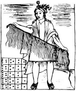Könyvelő az ősi Peruban