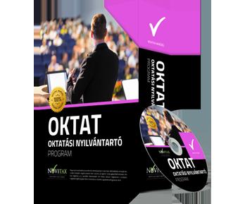 OKTAT Oktatási nyilvántartó program